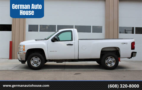 2012 Chevrolet Silverado 2500HD for sale at German Auto House in Fitchburg WI