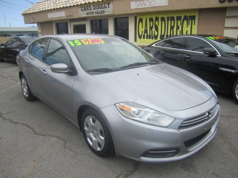 2015 Dodge Dart for sale at Cars Direct USA in Las Vegas NV
