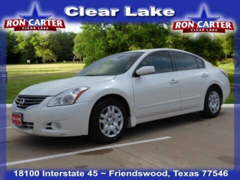 2011 Nissan Altima for sale at Ron Carter  Clear Lake Used Cars in Houston TX