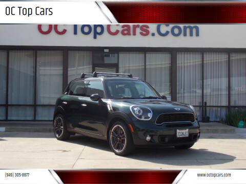 2013 MINI Countryman for sale at OC Top Cars in Irvine CA