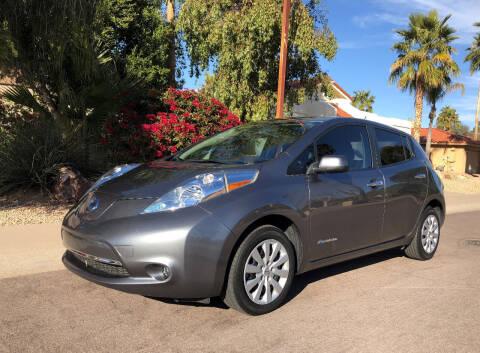 2015 Nissan LEAF for sale at Arizona Hybrid Cars in Scottsdale AZ