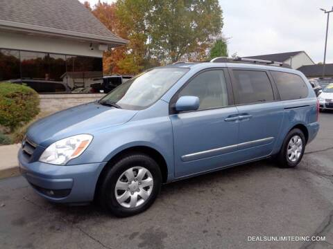 2007 Hyundai Entourage for sale at DEALS UNLIMITED INC in Portage MI