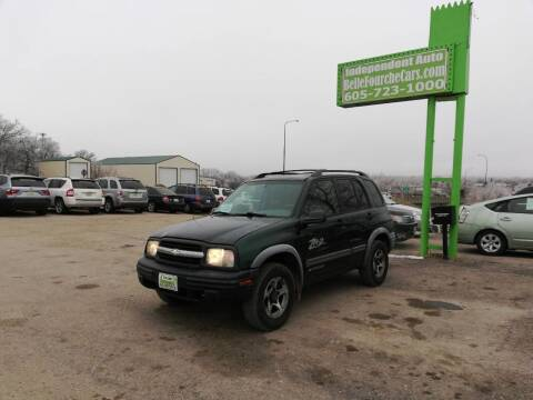 2004 Chevrolet Tracker for sale at Independent Auto in Belle Fourche SD