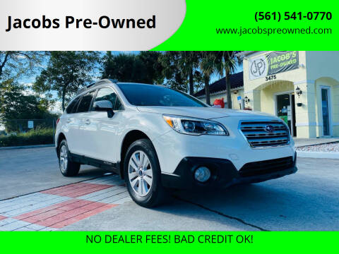 2016 Subaru Outback for sale at Jacobs Pre-Owned in Lake Worth FL