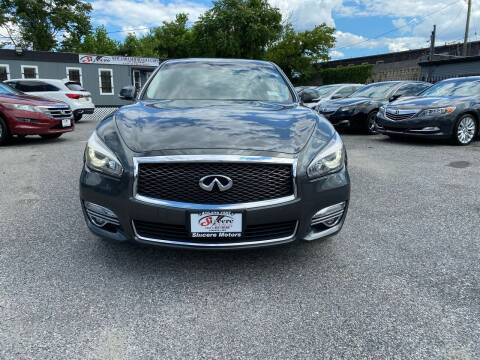2015 Infiniti Q70L for sale at Sincere Motors LLC in Baltimore MD