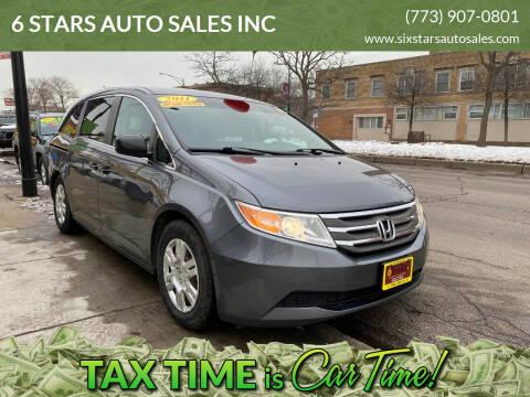 2011 Honda Odyssey for sale at 6 STARS AUTO SALES INC in Chicago IL