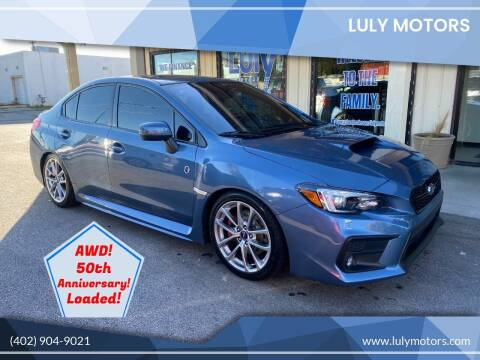 2018 Subaru WRX for sale at Luly Motors in Lincoln NE