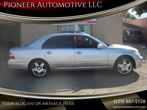2005 Lexus LS 430 for sale at Pioneer Automotive LLC in Tucson AZ