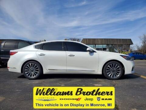 2018 Kia Cadenza for sale at Williams Brothers - Pre-Owned Monroe in Monroe MI