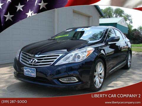 2013 Hyundai Azera for sale at Liberty Car Company - II in Waterloo IA