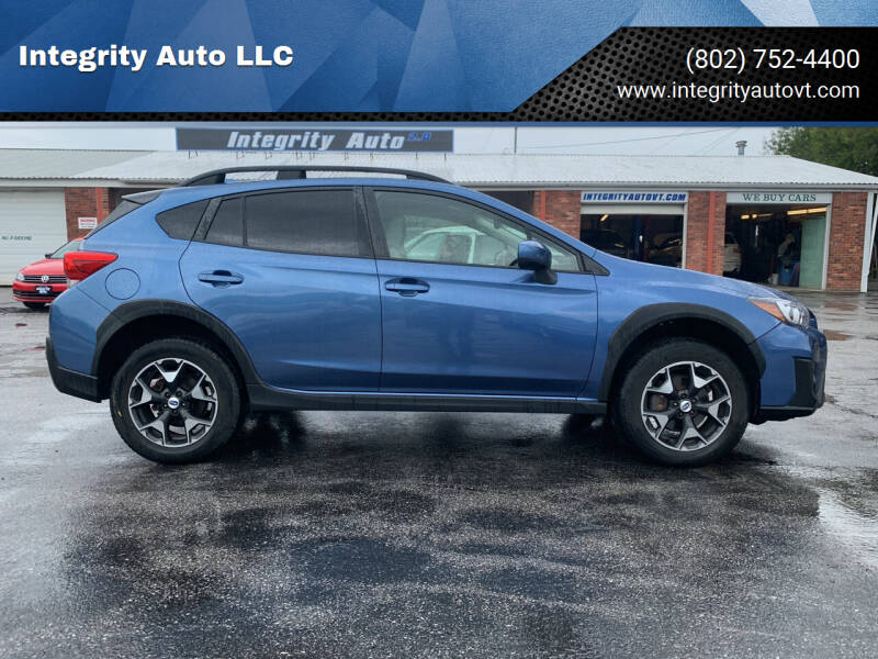 2018 Subaru Crosstrek for sale at Integrity Auto 2.0 in Saint Albans VT