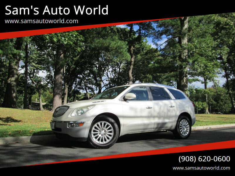 2011 Buick Enclave for sale at Sam's Auto World in Roselle NJ