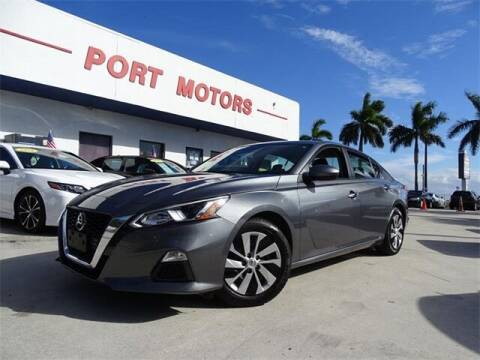 2019 Nissan Altima for sale at Automotive Credit Union Services in West Palm Beach FL
