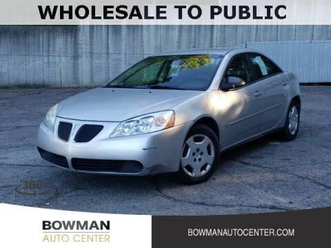2007 Pontiac G6 for sale at Bowman Auto Center in Clarkston MI