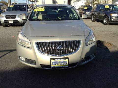2011 Buick Regal for sale at Worldwide Auto Sales in Fall River MA