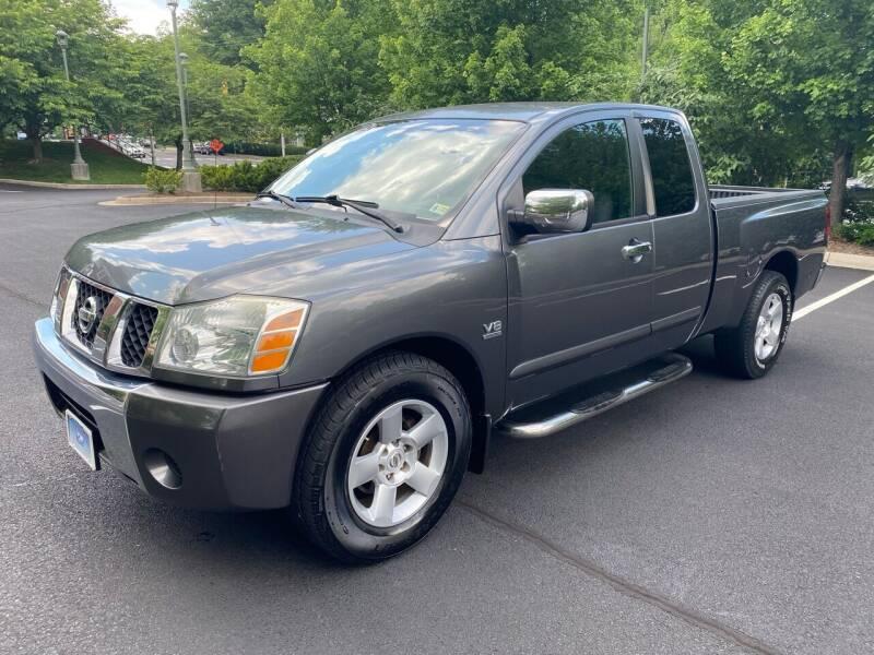 2004 Nissan Titan for sale at Car World Inc in Arlington VA