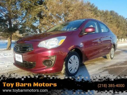 2017 Mitsubishi Mirage G4 for sale at Toy Barn Motors in New York Mills MN