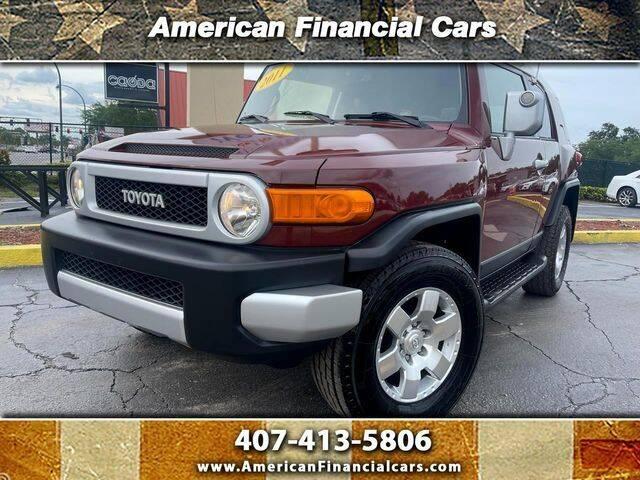 2011 Toyota FJ Cruiser for sale at American Financial Cars in Orlando FL