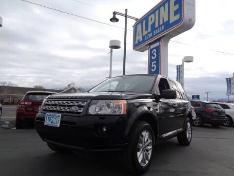 2011 Land Rover LR2 for sale at Alpine Auto Sales in Salt Lake City UT