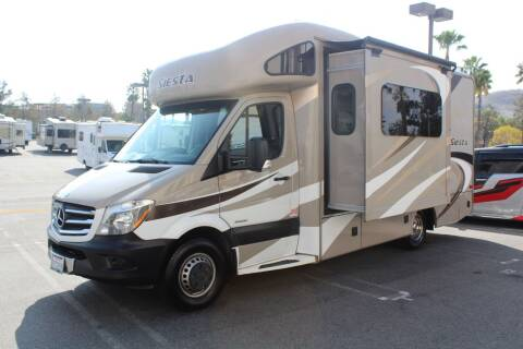 2015 Thor Industries Siesta Sprinter for sale at Rancho Santa Margarita RV in Rancho Santa Margarita CA