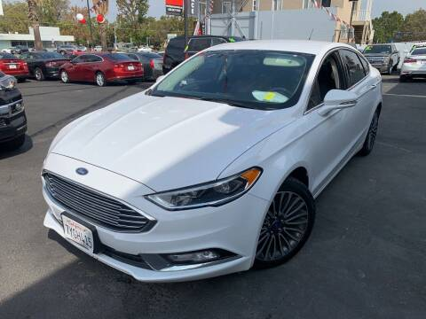 2017 Ford Fusion for sale at BAY AREA CAR SALES in San Jose CA
