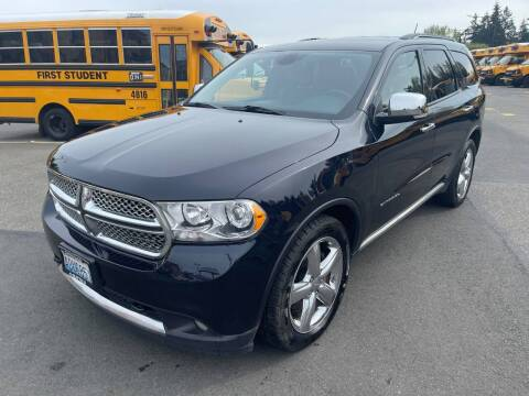 2011 Dodge Durango for sale at SNS AUTO SALES in Seattle WA