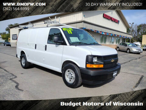2017 Chevrolet Express Cargo for sale at Budget Motors of Wisconsin in Racine WI