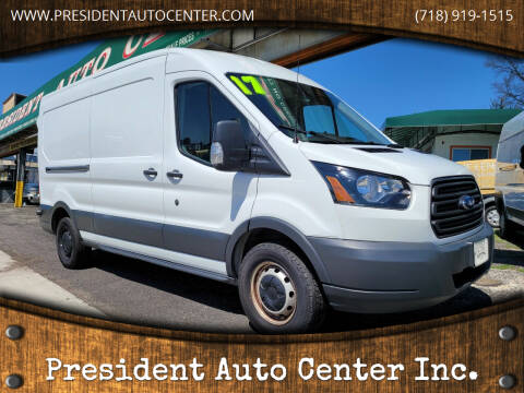 2017 Ford Transit Cargo for sale at President Auto Center Inc. in Brooklyn NY