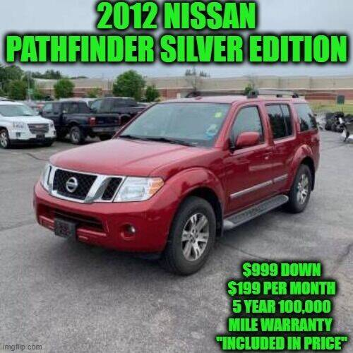2012 Nissan Pathfinder for sale at D&D Auto Sales, LLC in Rowley MA