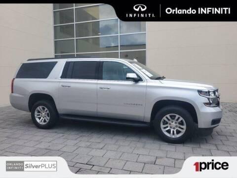 2018 Chevrolet Suburban for sale at Orlando Infiniti in Orlando FL