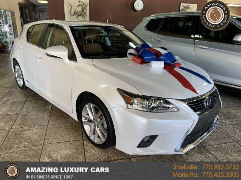 2016 Lexus CT 200h for sale at Amazing Luxury Cars in Snellville GA