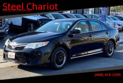 2013 Toyota Camry for sale at Steel Chariot in San Jose CA