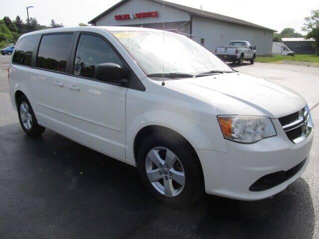 2013 Dodge Grand Caravan for sale at Thompson Motors LLC in Attica NY