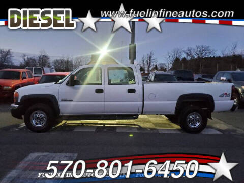2007 GMC Sierra 3500 Classic for sale at FUELIN FINE AUTO SALES INC in Saylorsburg PA