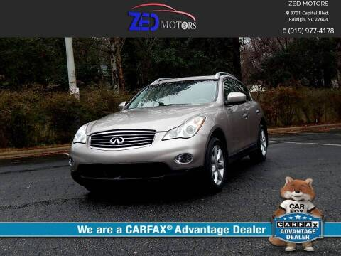 2008 Infiniti EX35 for sale at Zed Motors in Raleigh NC