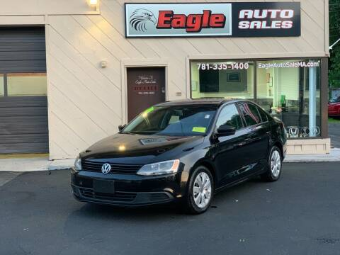 2012 Volkswagen Jetta for sale at Eagle Auto Sales LLC in Holbrook MA