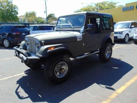 1985 Jeep CJ-7 for sale at Santa Monica Suvs in Santa Monica CA