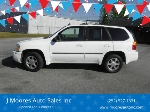 2007 GMC Envoy for sale at J Moores Auto Sales Inc in Kinston NC