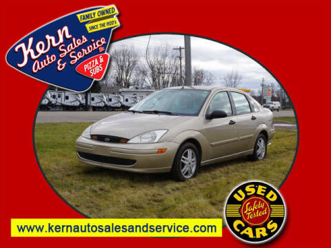 2000 Ford Focus for sale at Kern Auto Sales & Service LLC in Chelsea MI