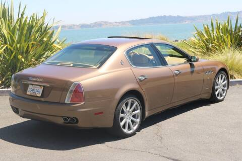 2005 Maserati Quattroporte for sale at 415 Motorsports in San Rafael CA