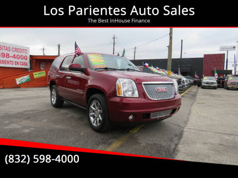 2009 GMC Yukon for sale at Los Parientes Auto Sales in Houston TX