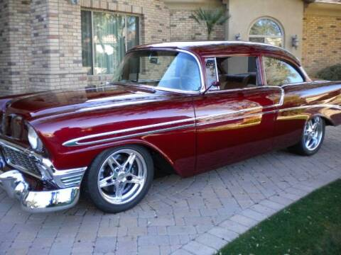 1956 Chevrolet 210 for sale at Classic Car Deals in Cadillac MI