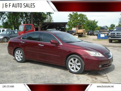 2007 Lexus ES 350 for sale at J & F AUTO SALES in Houston TX