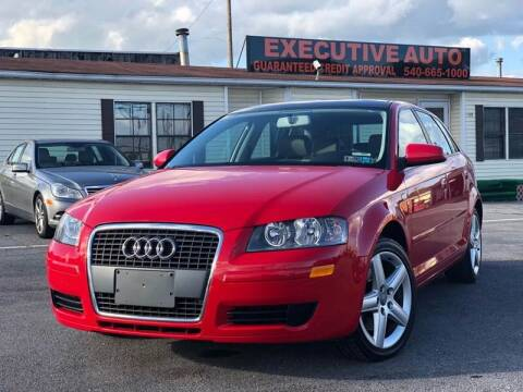 2007 Audi A3 for sale at Executive Auto in Winchester VA