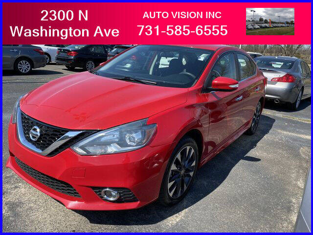 2017 Nissan Sentra for sale at Auto Vision Inc. in Brownsville TN