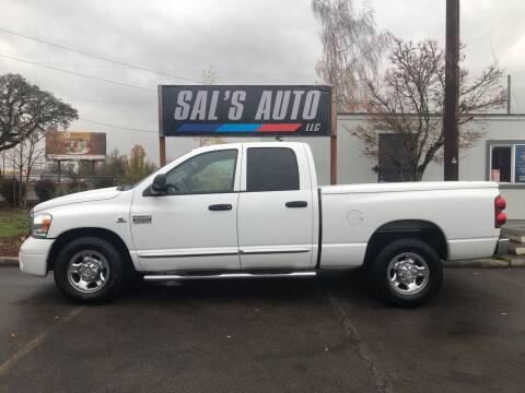 2007 Dodge Ram Pickup 2500 for sale at Sal's Auto in Woodburn OR