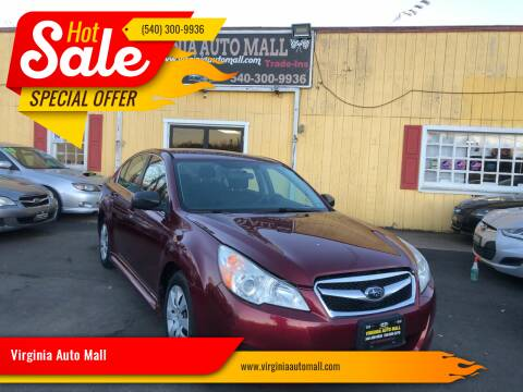 2011 Subaru Legacy for sale at Virginia Auto Mall in Woodford VA