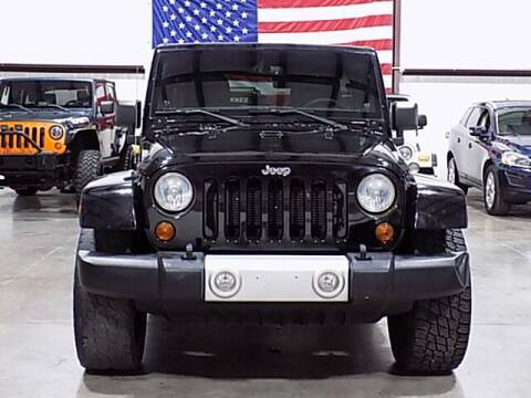 2013 Jeep Wrangler Unlimited for sale at Texas Motor Sport in Houston TX