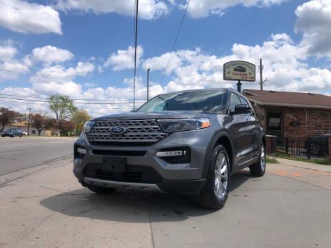 2021 Ford Explorer for sale at All Starz Auto Center Inc in Redford MI