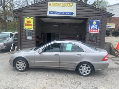 2005 Mercedes-Benz C-Class for sale at Martino Motors in Pittsburgh PA